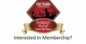 Interested In Membership