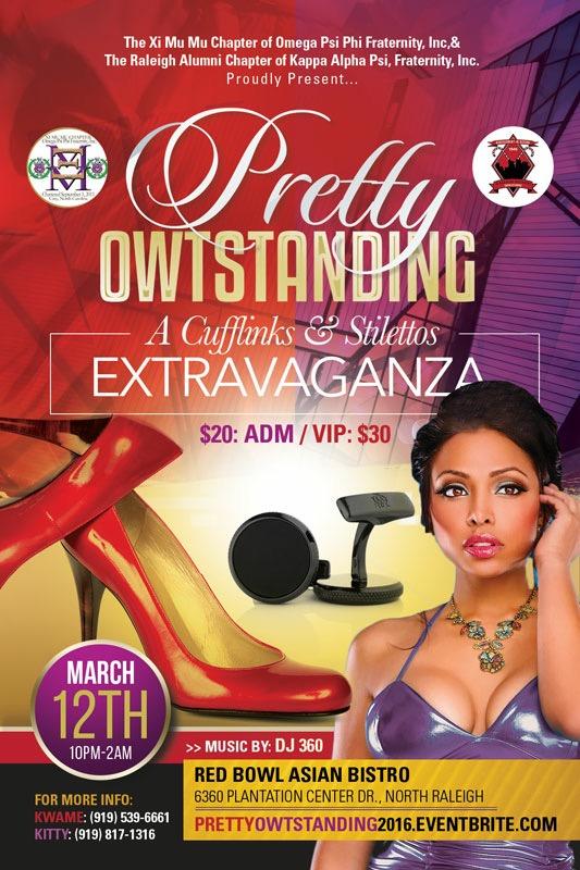 Pretty OWTStanding: A Cufflinks & Stilettos Extravaganza