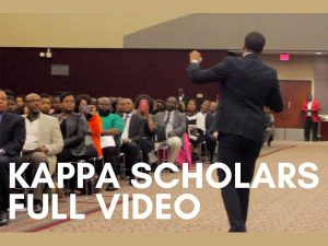 Kappa Scholars Program - 2016