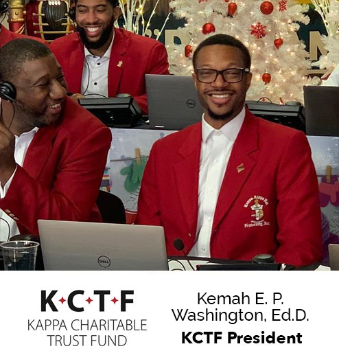 Dr. Kemah E. P. Washington - KCTF President